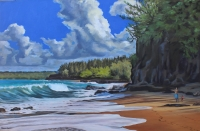 Oil paintings by Kauai artist Helen Turner