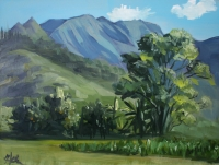 Hanalei Valley plein air