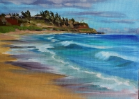 Kealia Beach plein air