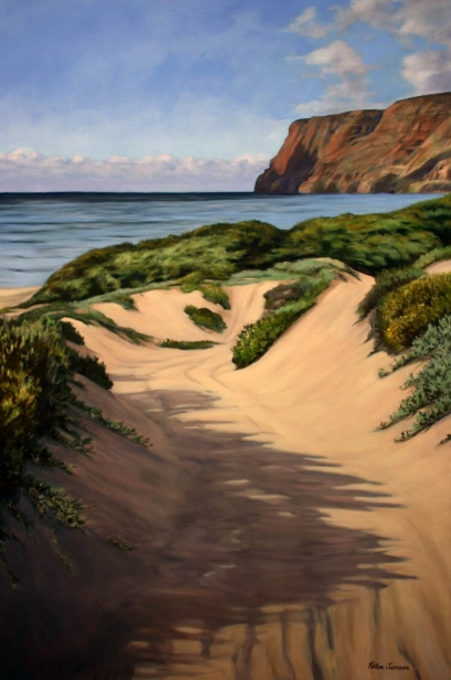 Destination Paradise, pastel artwork by Kauai artist Helen Turner