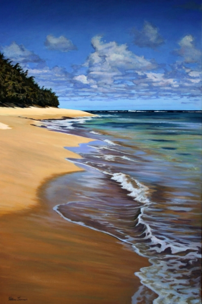 One More Day, pastel artwork by Kauai artist Helen Turner