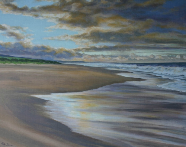 Sunrise on the Westside, pastel artwork by Kauai artist Helen Turner